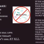 AUTISM & BULLYING